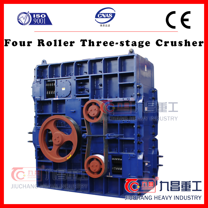 [Hot Item] Hot Sale Mining Crusher for 4pg Four Roller Three-Stage Crusher