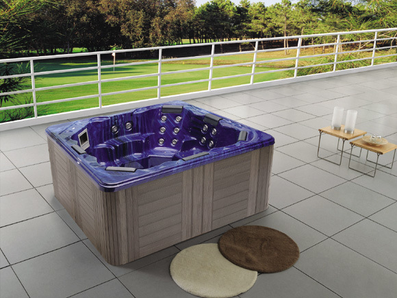 China 2.2 Meter Outdoor SPA Jacuzzi Hot Tub For 7 Sitting Persons (M 3340)    China Spa, Jacuzzi