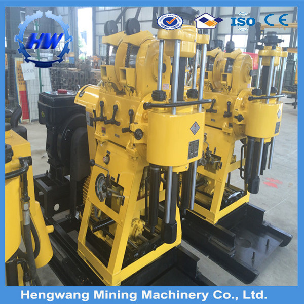 China Hydrauc Crawler Small Core Drilling Rig for Soil Investigation