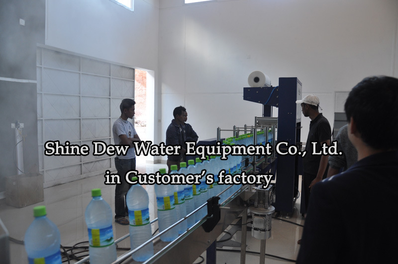 Automatic 2000-24000 Bottles Per Hour Water Bottling Machine