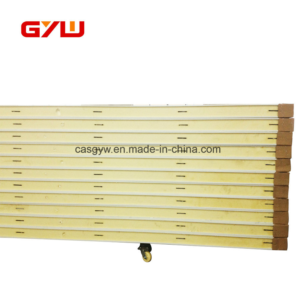 China Insulated PU Foam Sandwich Wall Panel for Refrigeration Photos ...