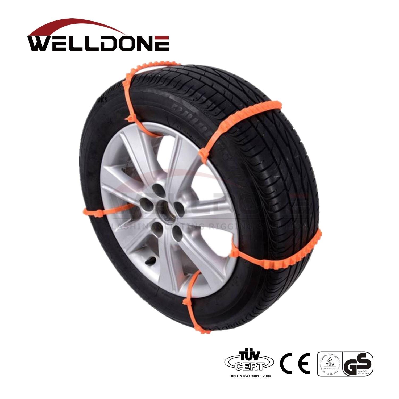 1x Car Accessories Anti-skid Snow Tyre Tire Wheel Chain Durable Steel Strap