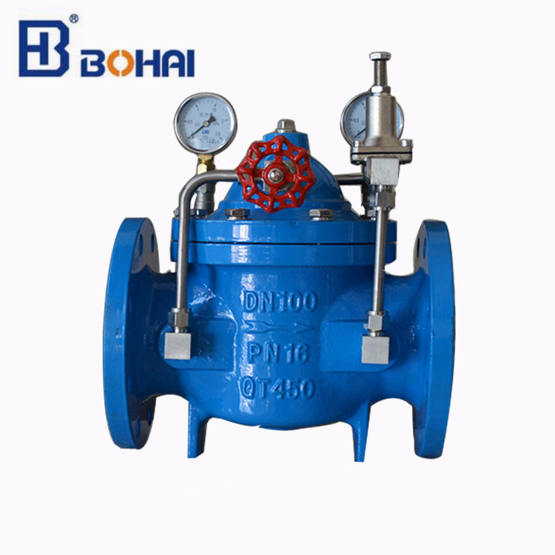 Pressure Reducing Control Valve with Automatic Adjustment Function