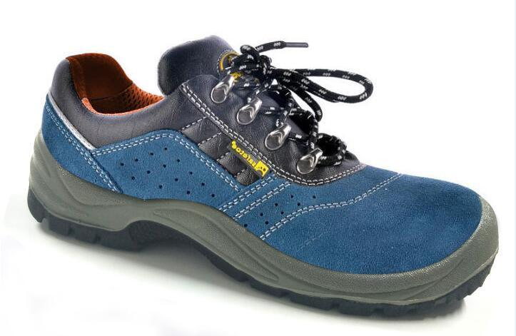 Ce Certificate Suede Leather Work Shoes (SN1310) pictures & photos