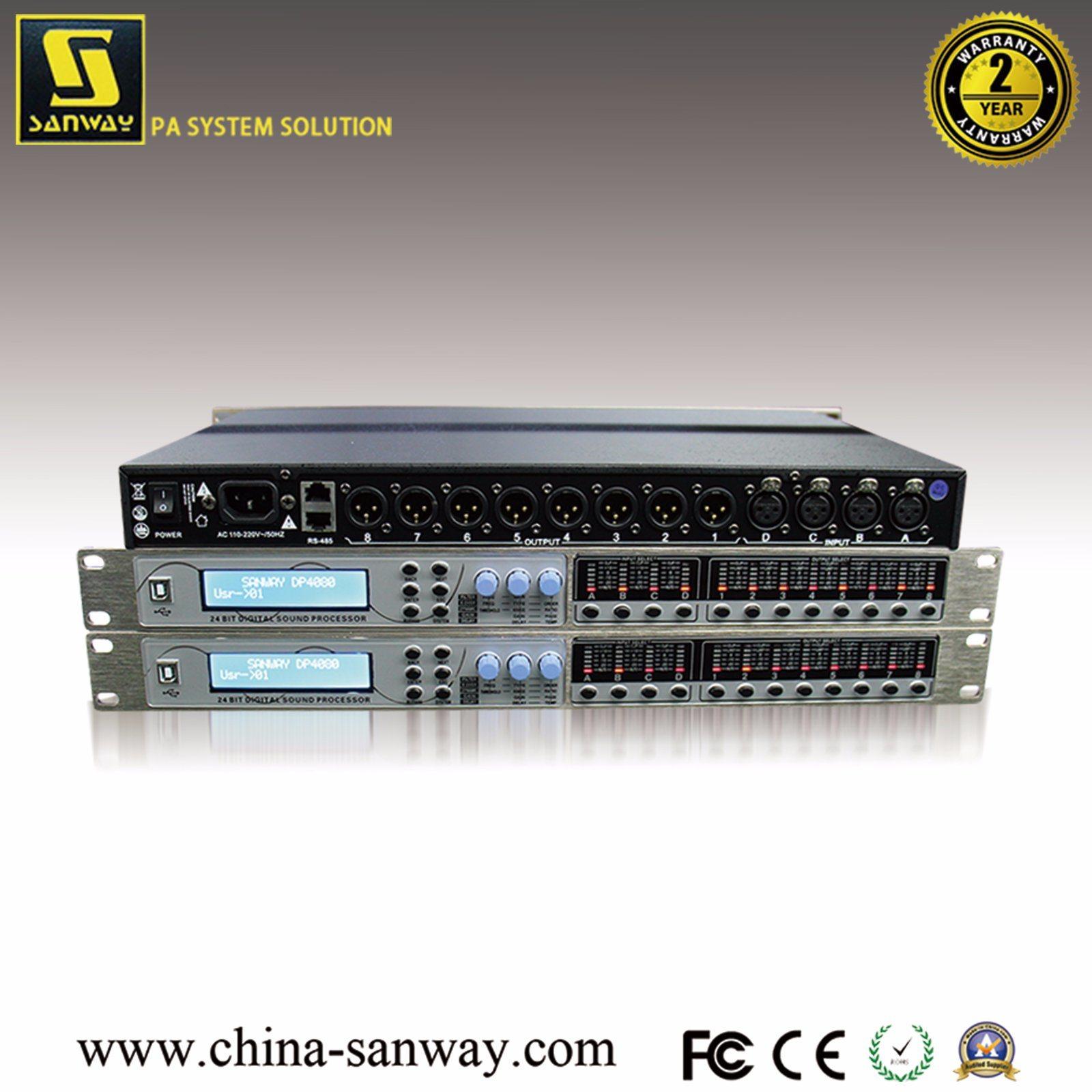 [Hot Item] Sanway Dp4080 Professional Audio Speaker Management Digital  Processor, Karaoke/DJ Audio Processor Crossover