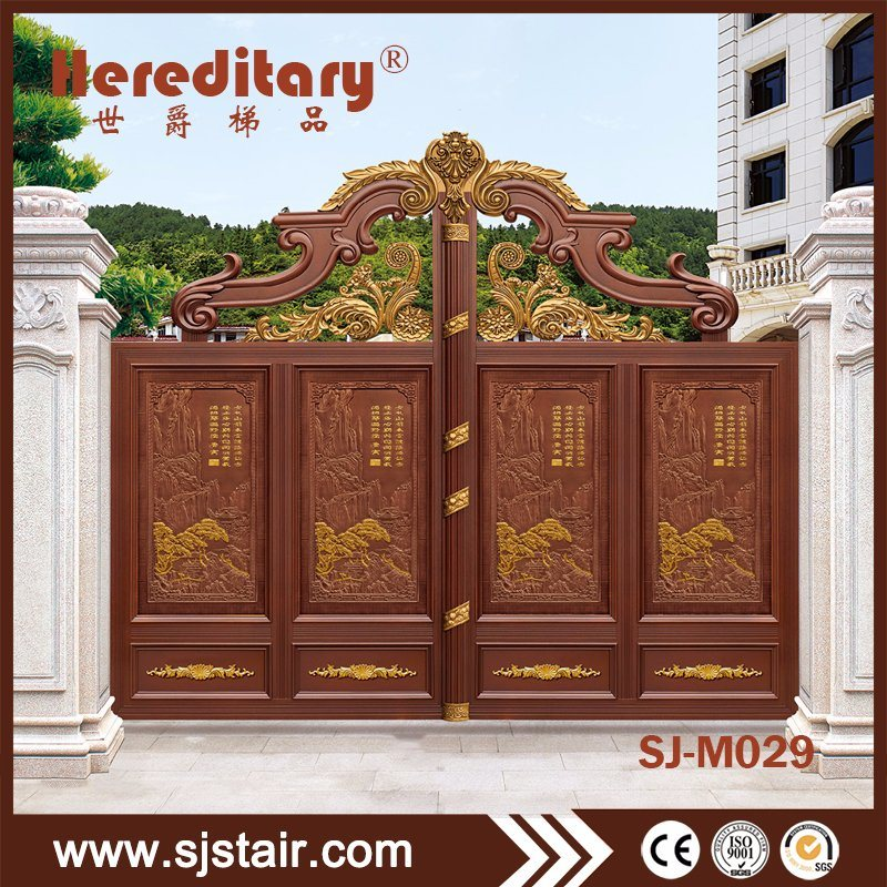 . Hot Item  Chinese New Style Aluminum Main Gate Designs for Farm House
