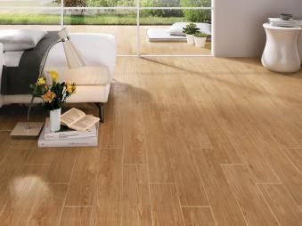 Hot Item 15x80cm Glazed Wood Look Tiles Ceramic Italian