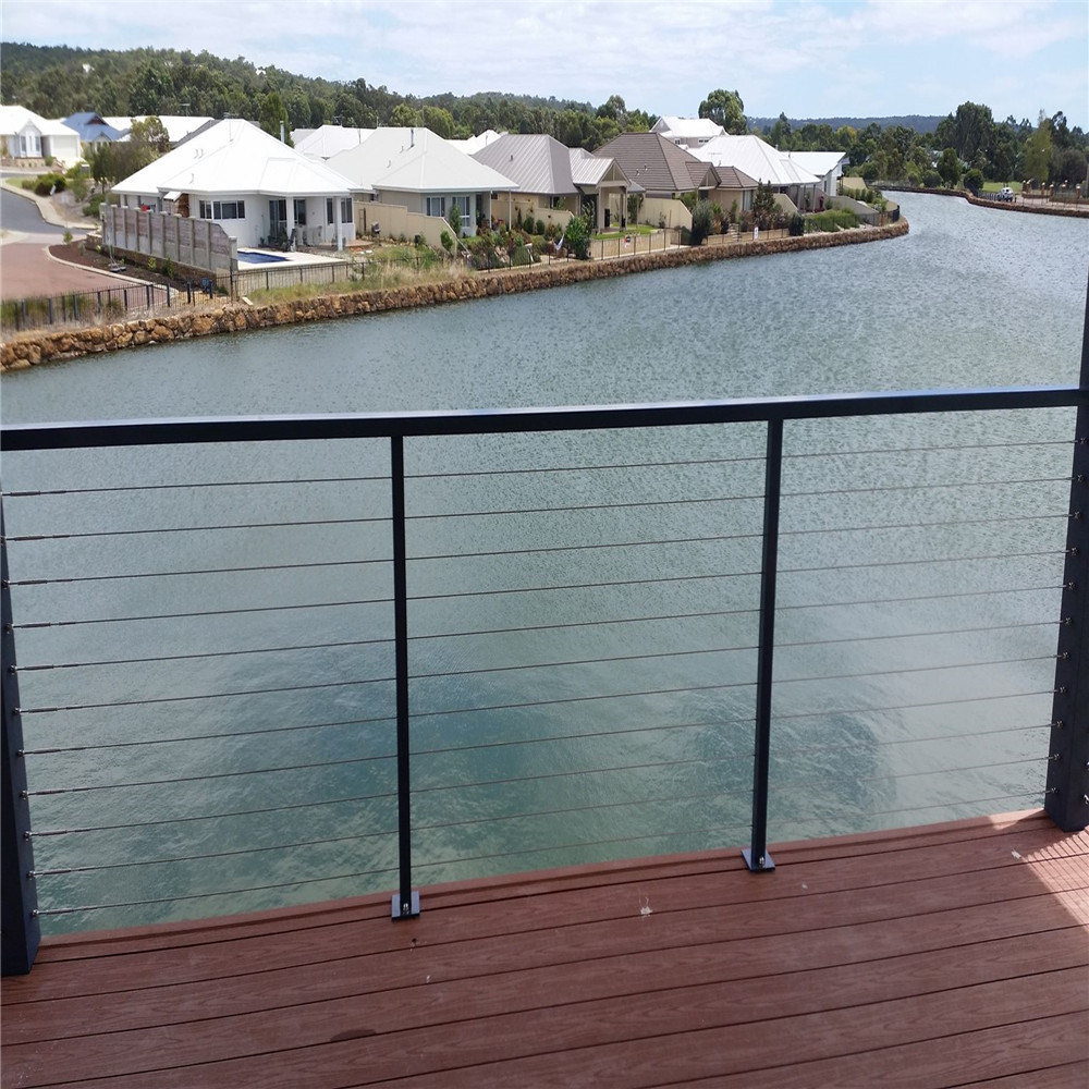 China SUS316 Wire Cable Railing Balustrade for Fence Near to Sea ...