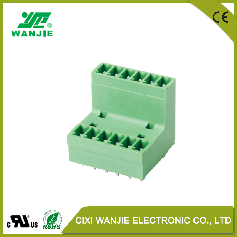 China Pluggable Terminal Block Electrical Wire Connector with High ...