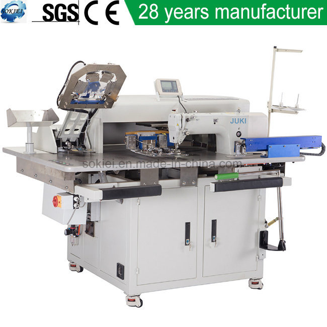 China Fully Automatic CNC No Ironing Jeans Shirts Patch Pocket Extraordinary Automatic Sewing Machine For Shirts