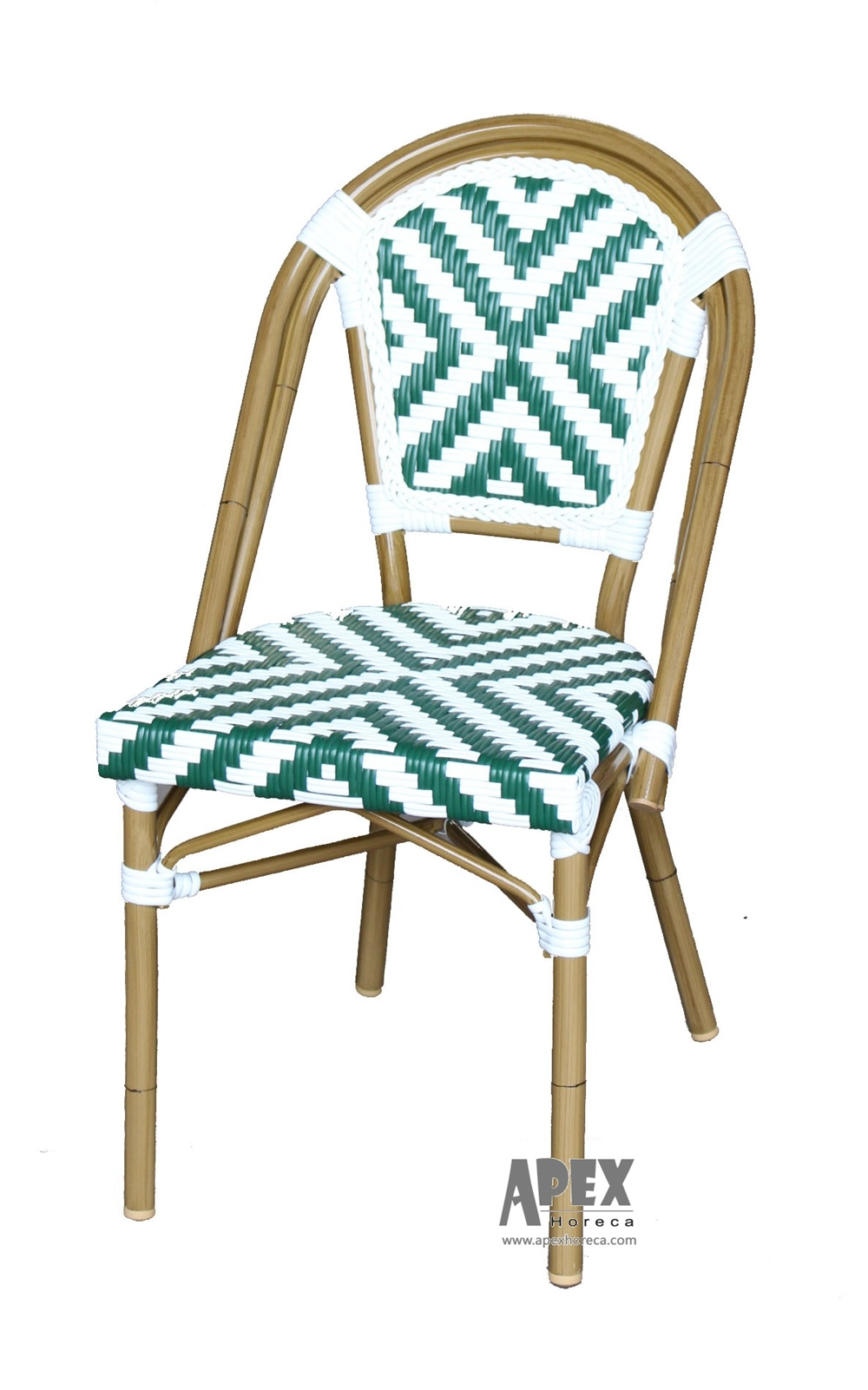 Hot Item Bistro French Chair Wicker Chair Bamboo Look Cafe Furniture