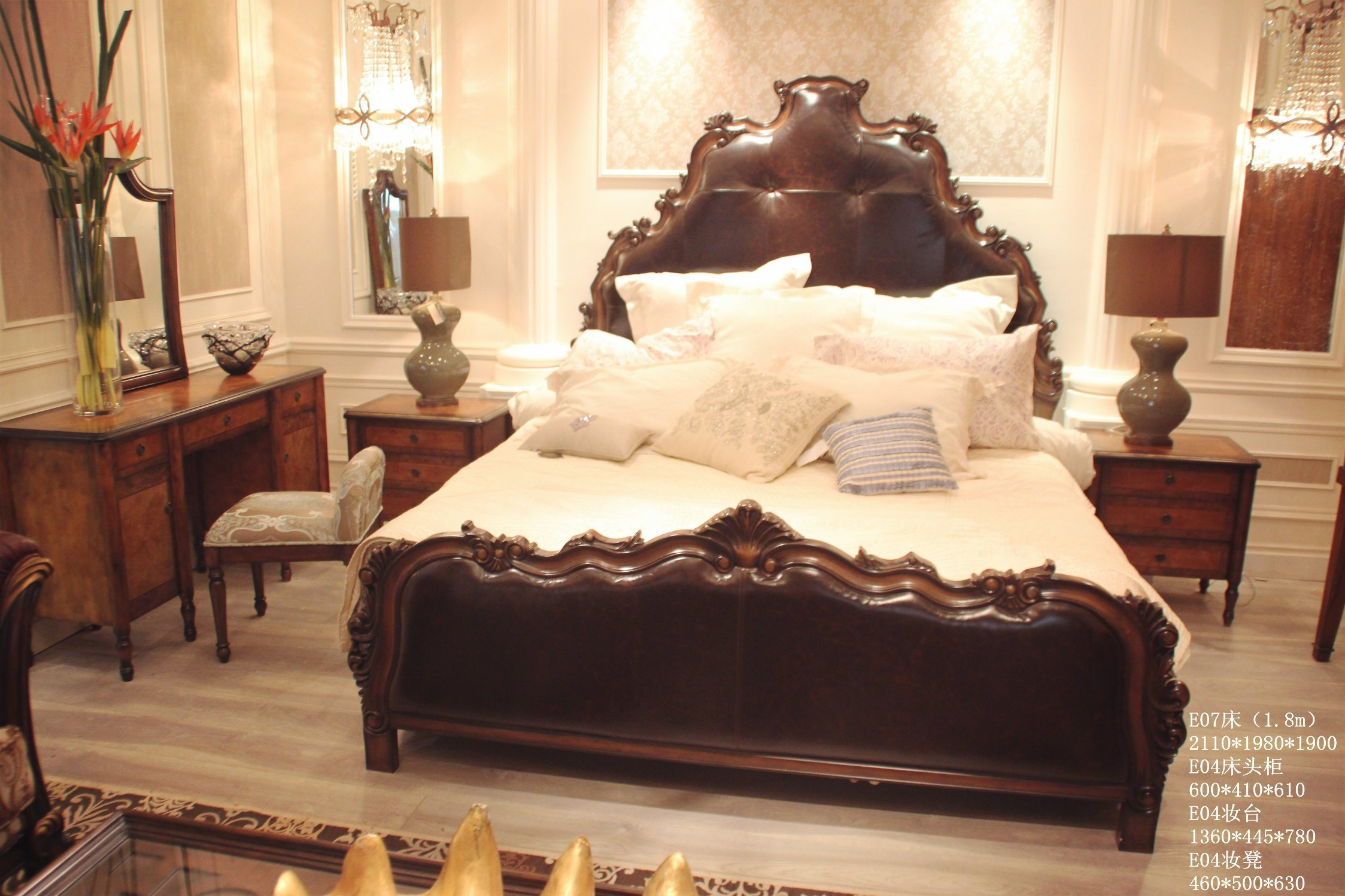 China Antique American Style Bed New Classical Home Bedroom Sets Furniture Photos Pictures Made In China Com