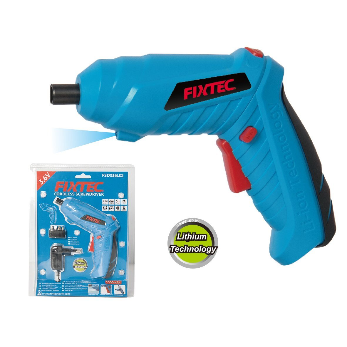 Electric Cordless Screwdriver Drill Power Tool Rechargeable Lithium Driver NEW