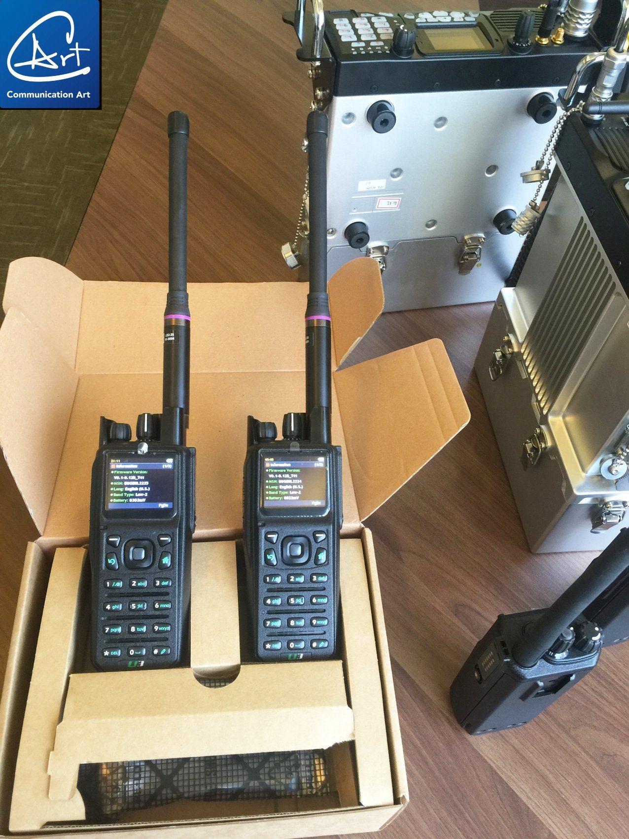 China 66-88MHz Dmr Two Way Radio for Low VHF Dmr Radio
