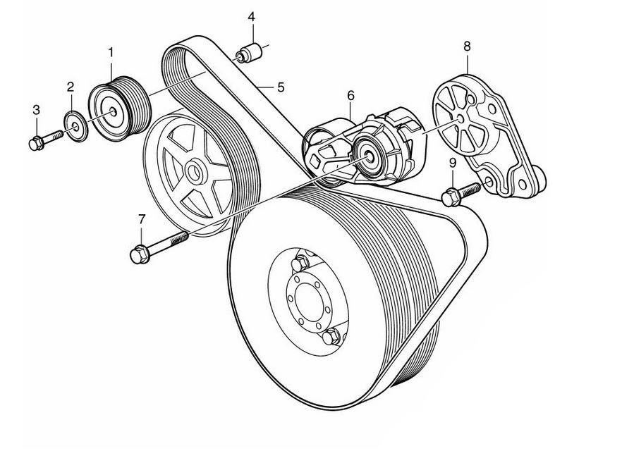 China Idler Pulley Bearing Belt Tensioner 11925 00qae Fit For Nissan
