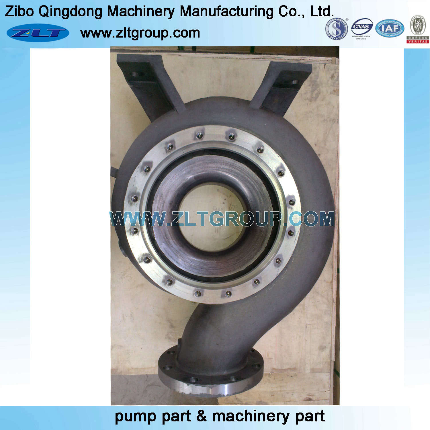 Chemical Process Centrifugal Stainless Steel/Carbon Steel Pump Casing pictures & photos