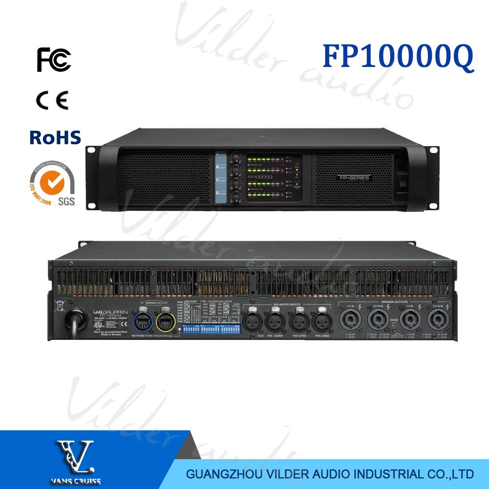 China Fp10000q 4 Channel 1350 Watts Power Amplifier For Line Array 1200w Circuit Sanken Electronic Speaker