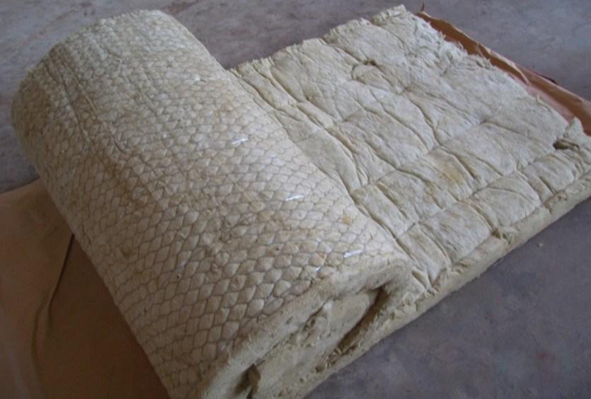 China Rockwool Blanket With Wire Mesh Rock Wool Blanket