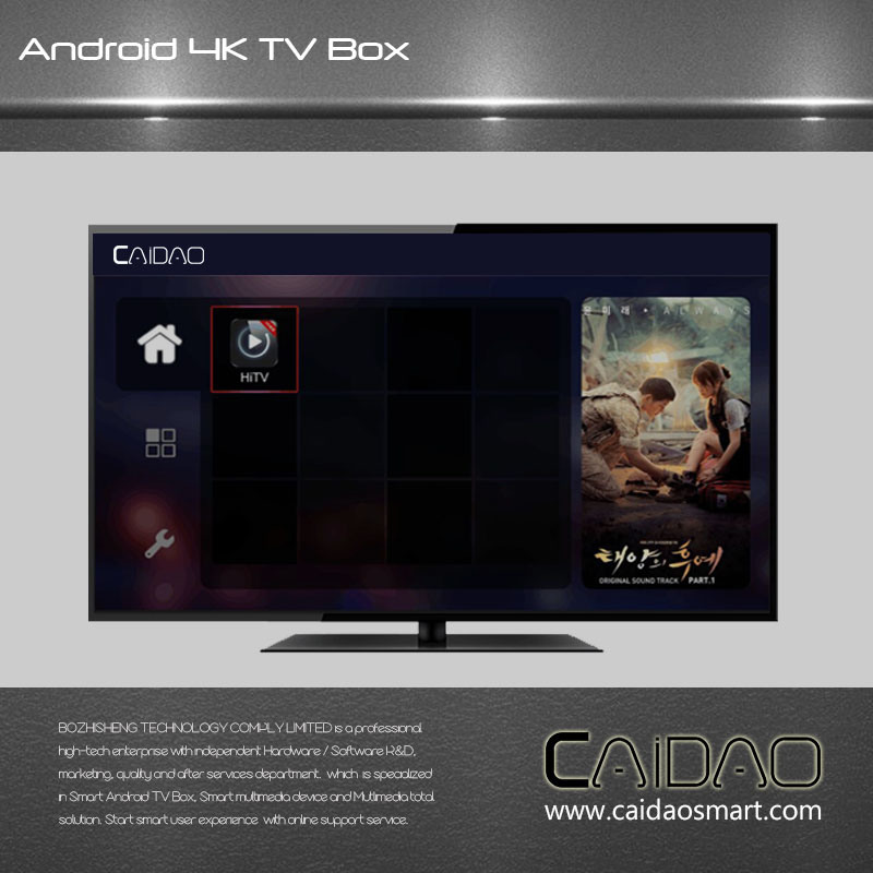 New Arrival WiFi Bt Android 6.0 Smart TV Box Based on Cortex A53 64bit Processor. 2GB+32GB pictures & photos