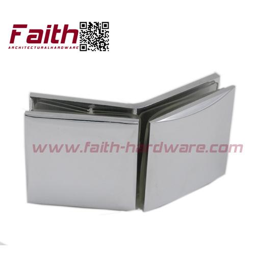 China Durable Brass Frameless Shower Glass Door Clamp (GCC. 135. BR ...