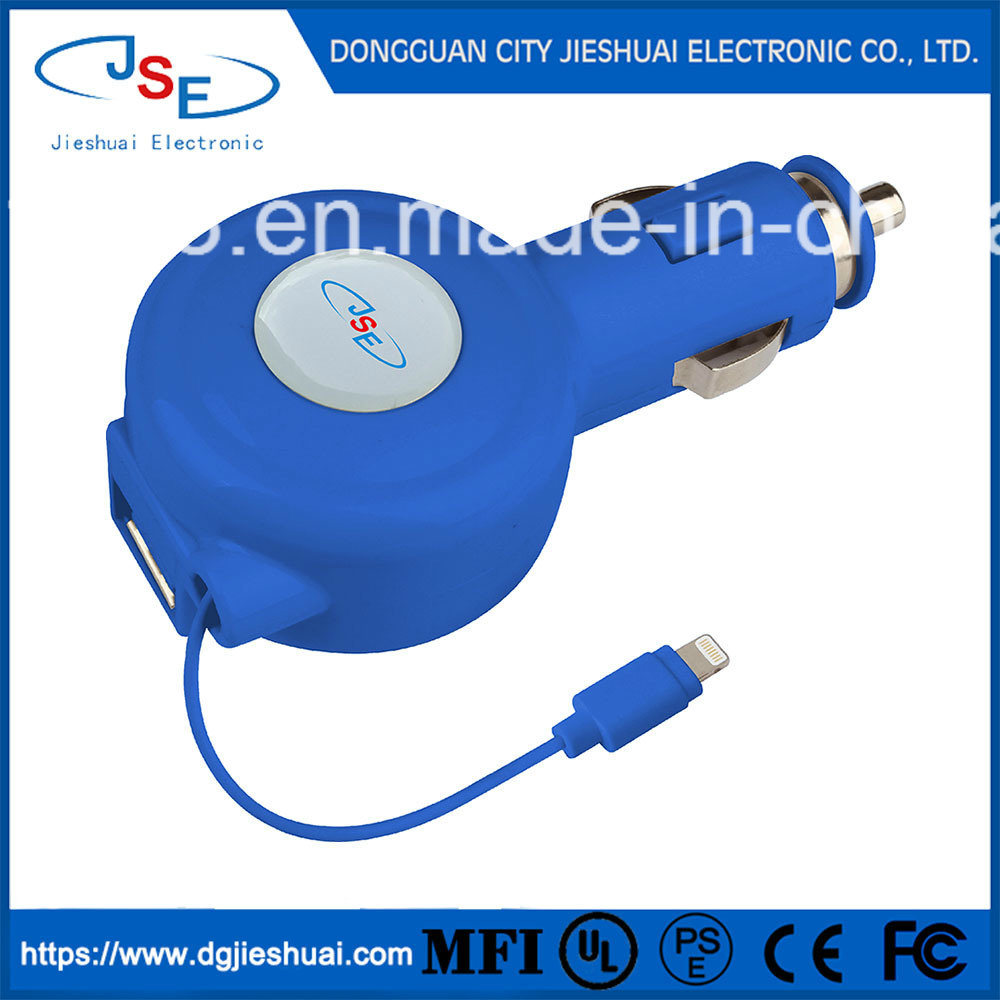 china retractable lightning cable apple mfi certified 8 pin to