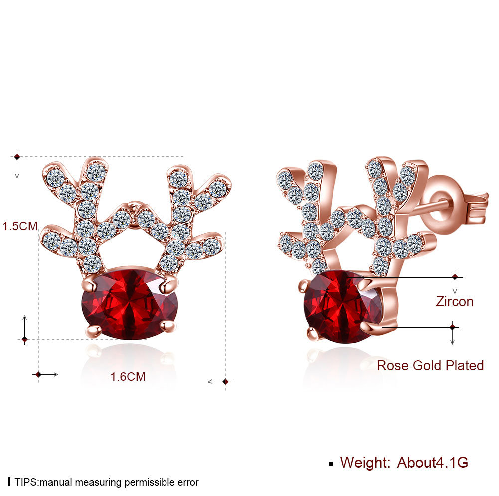 China Christmas Gift Jewelry Women Fashion Earrings Stud Photos Pictures Made In China Com