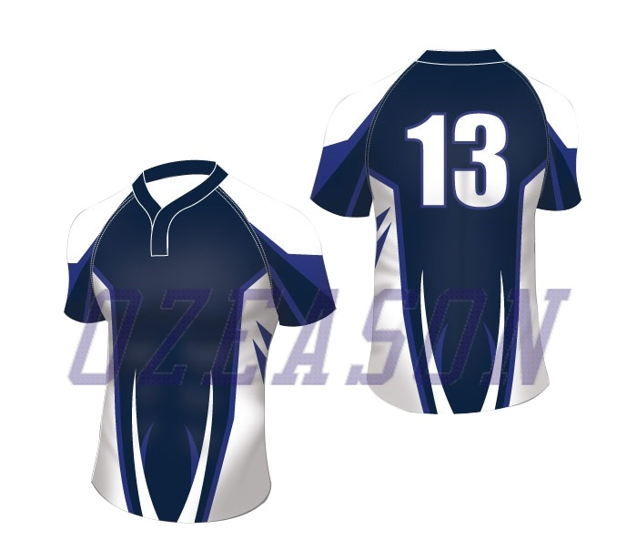 1d9296437c China Wholesale Sublimated Cheap Striped Custom Rugby Jerseys, Rugby ...