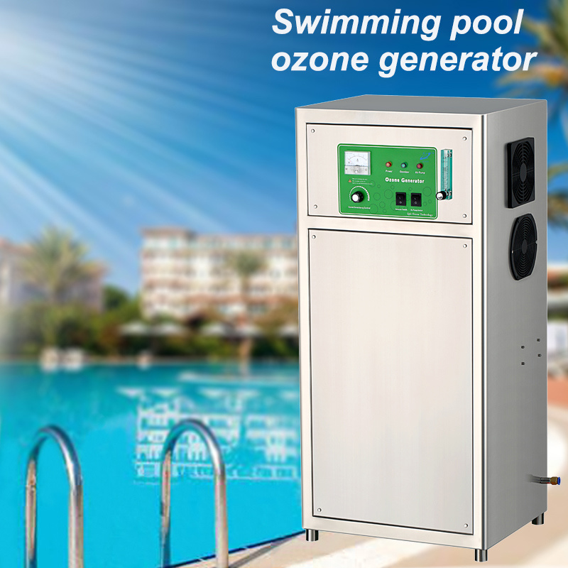 [Hot Item] 20g Oxygen Source Ozone Generator for Swimming Pool Water Purify