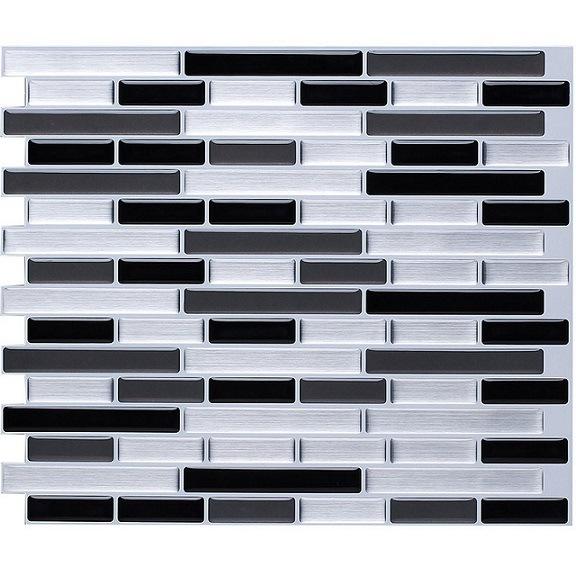 China Self Adhesive Vinyl Mosaic Sticker Backsplash Magic Peel And - Self-adhesive-backsplash-set