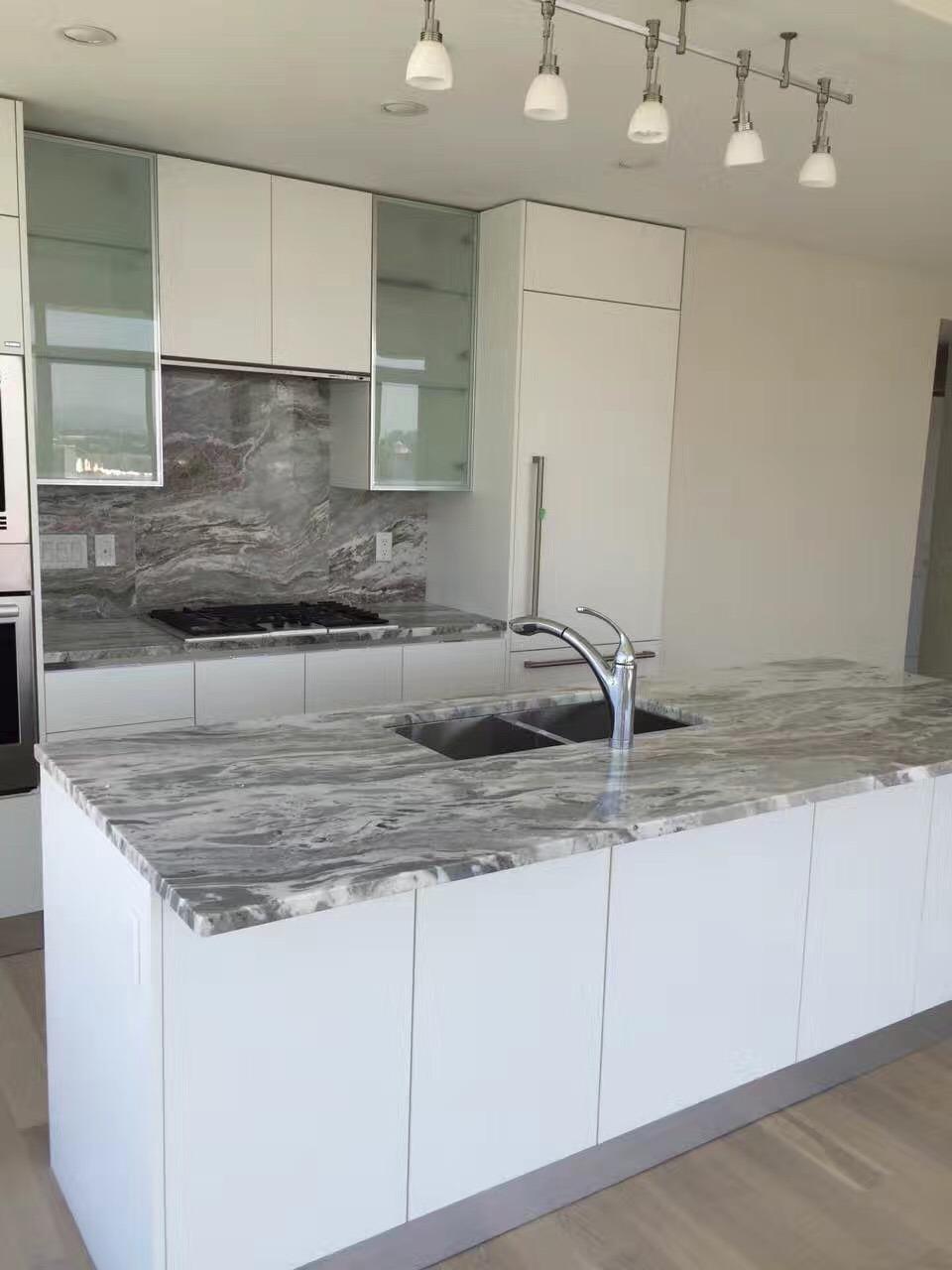 China Fantasy Brown Granite Kitchen Countertop Vanity Top China Granite Countertop Granite Kitchen Countertop