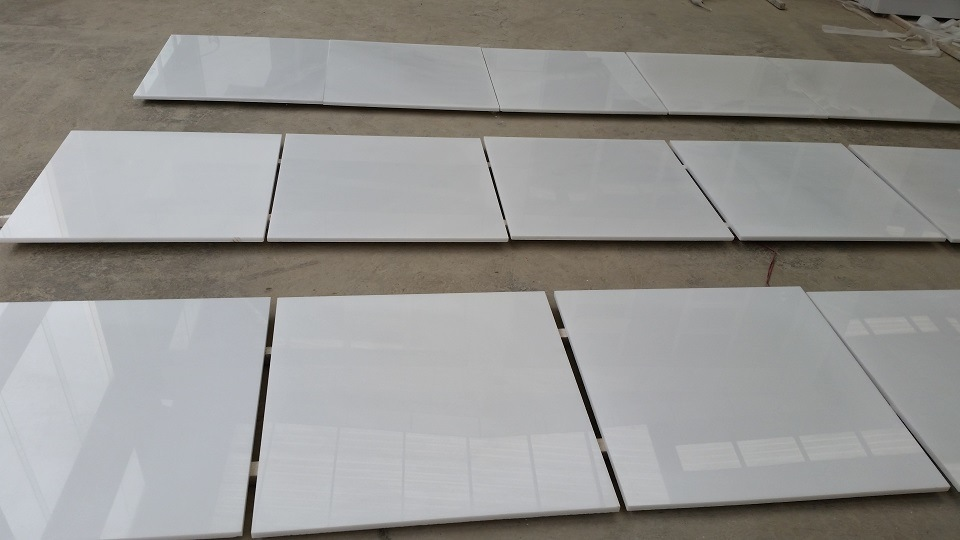 High Quality Royal White Pure Oriental Marble Tile For Floor Wall Kitchen
