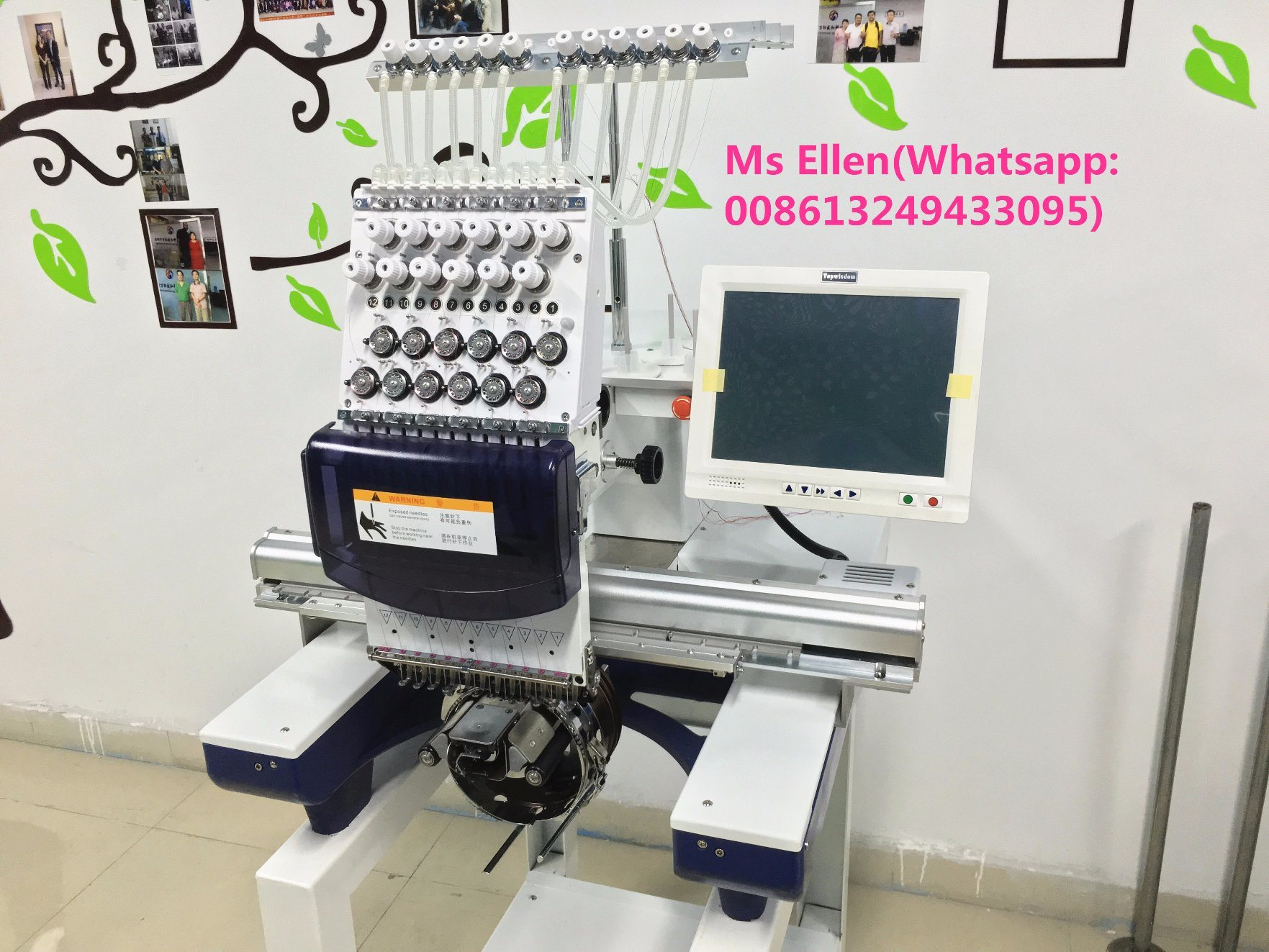 Used Embroidery Machines For Sale >> China Wonyo Single Head Used Industrial Embroidery Machines For Sale