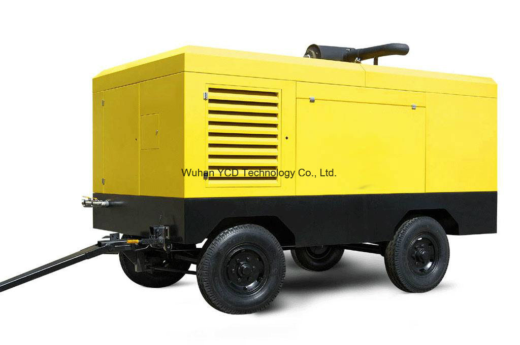 Diesel Driven Portable Screw Air Compressor (DSC250E) for Mining, Shipbuilding, Urban Construction, Energy, Military and Industries pictures & photos