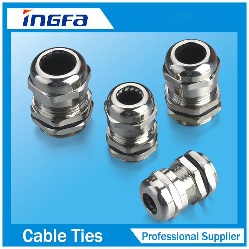 China Quick Deliver Waterproof Nickel Plated Brass Metal Cable Gland ...