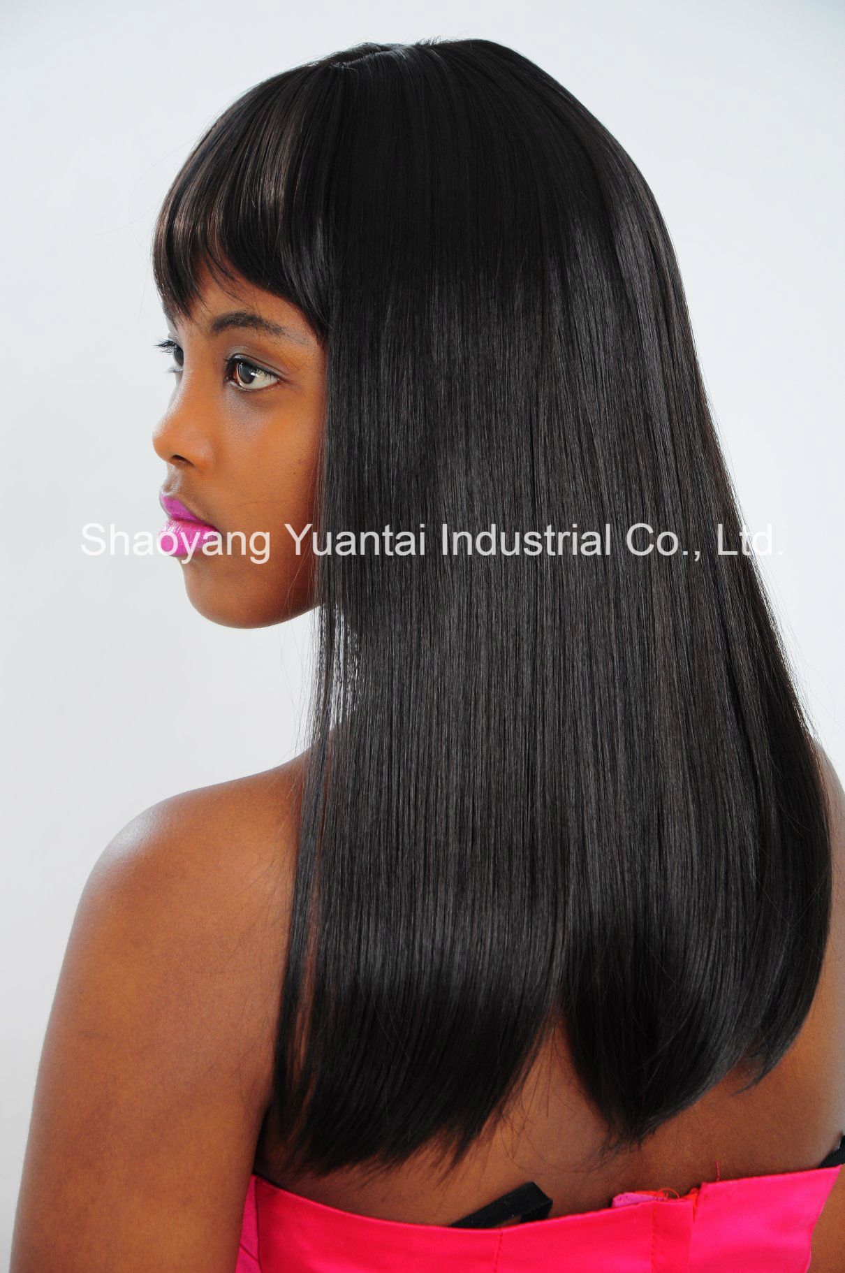 China Clip In On Dark Color Human Hair Extension China Human