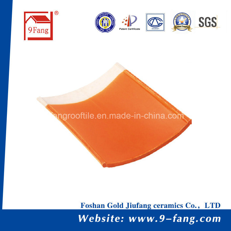 Chinese Roof Tile Interlocked Clay Roof Tile 300*400mm Villa Ceramic Roofing Tile Factory Supplier From Guangdong, China pictures & photos