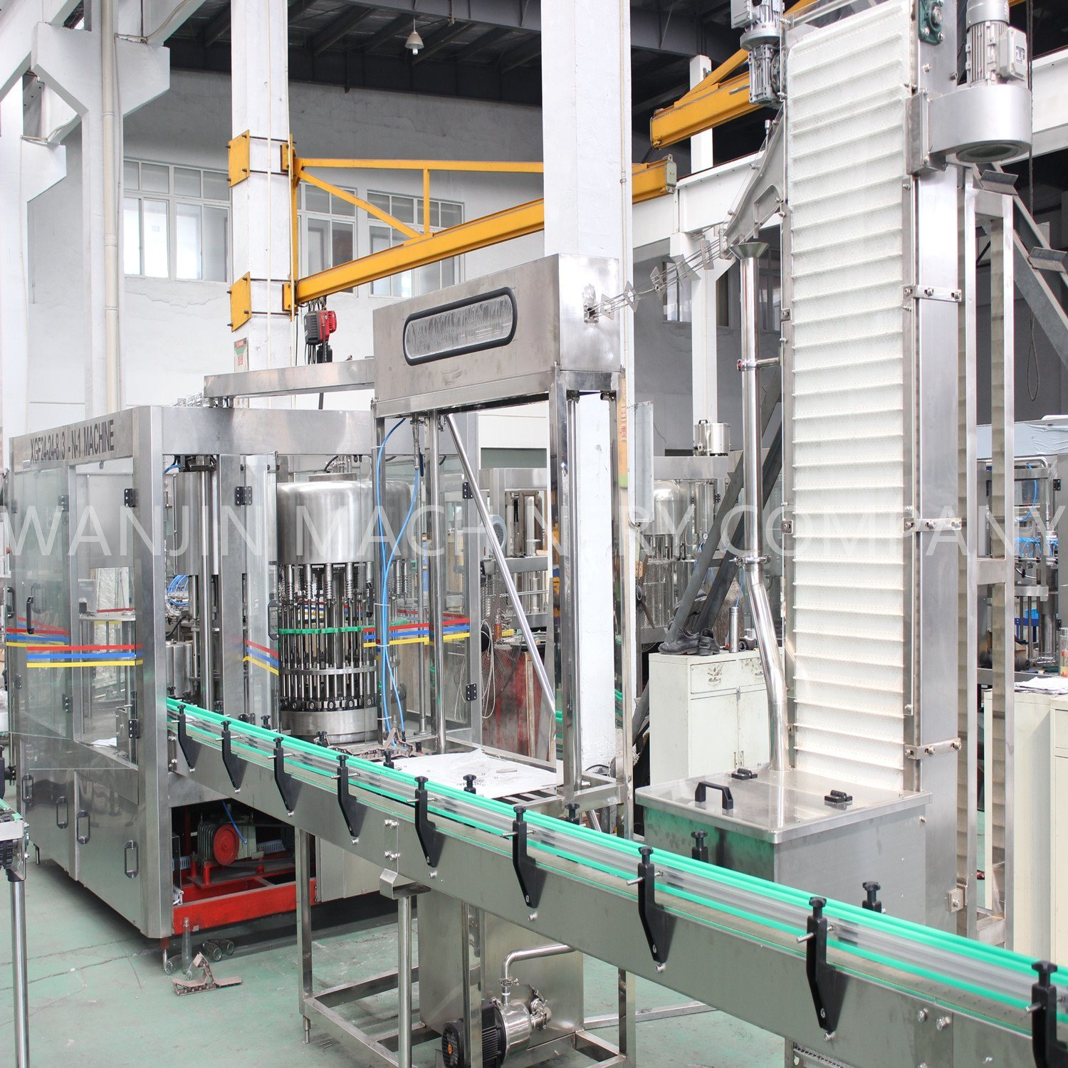 Drinking Water and Juice Filling System Complete Line