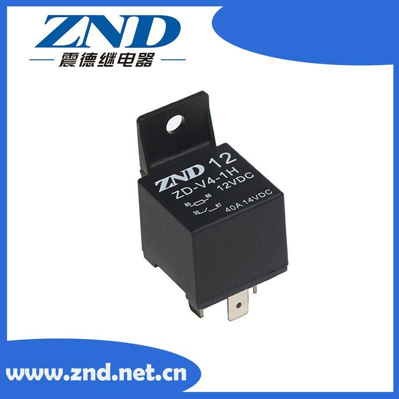 China Four Pins Black Cover Automotive Relay 40a 12v Auto