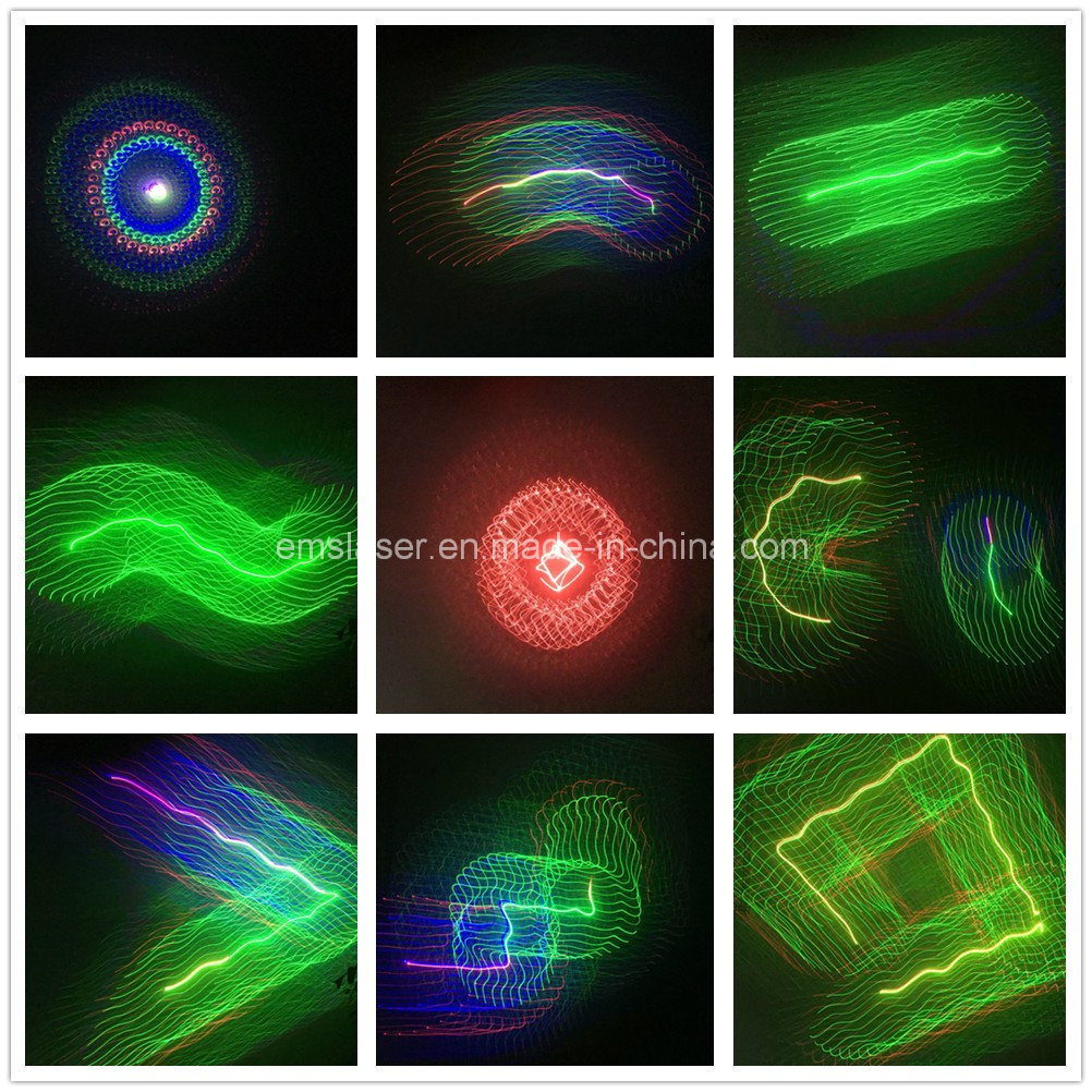 Mini RGB Animation Laser Light Disco Stage Beam Light pictures & photos