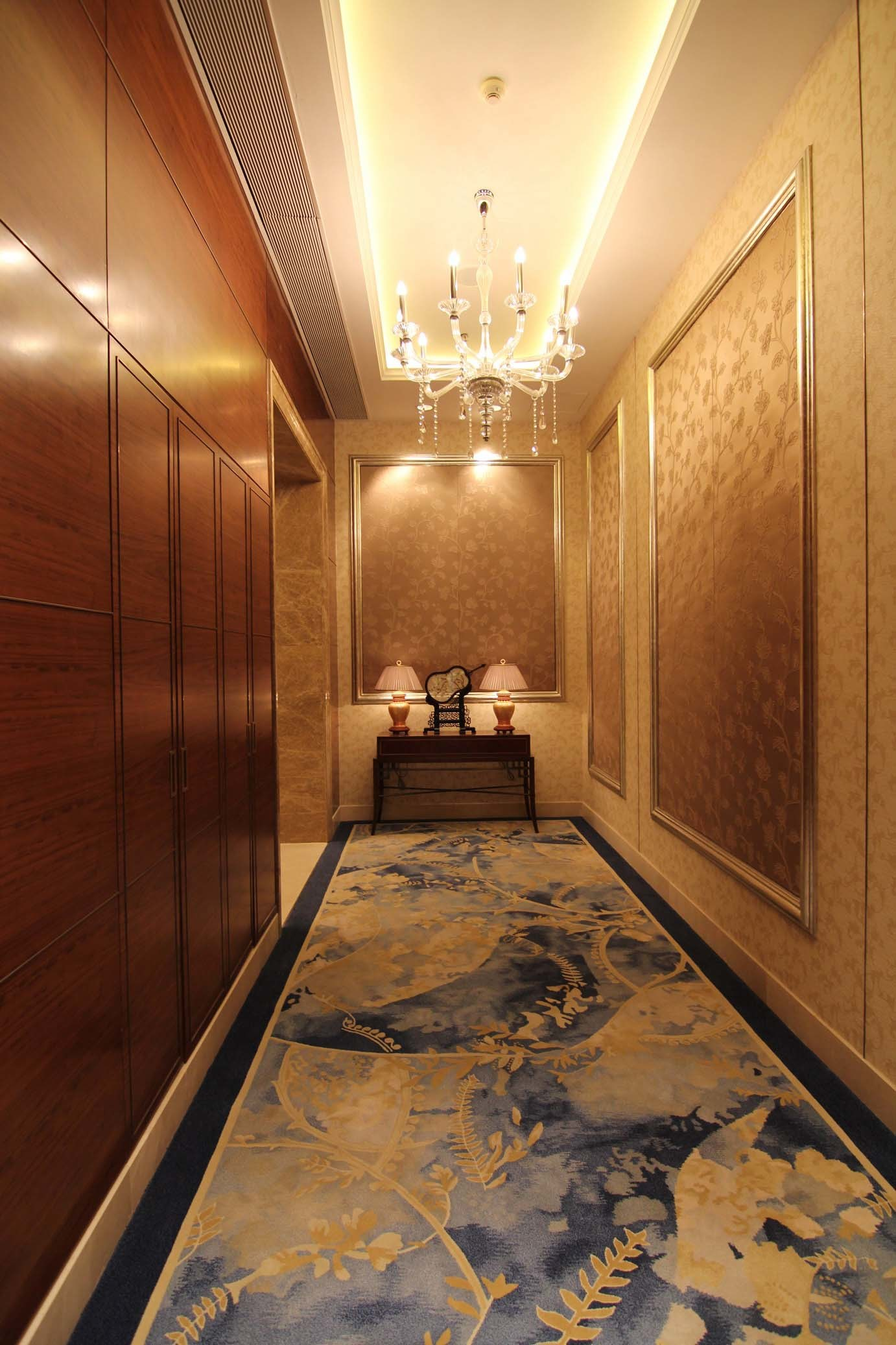 China Hand Tufted Shangri La Hotel Corridor Carpet
