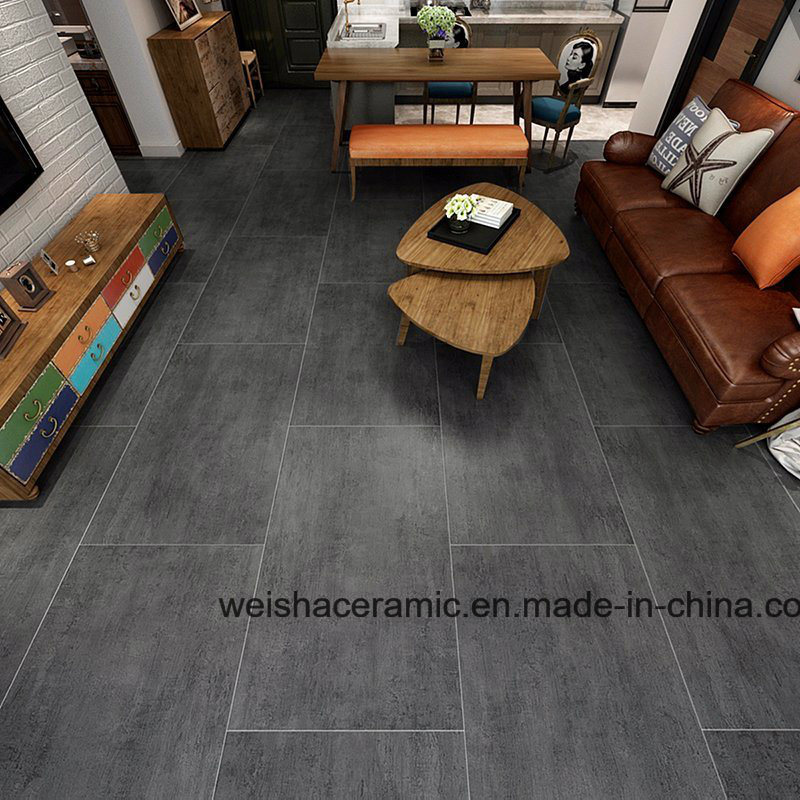 Dark Grey Cemento Porcelain