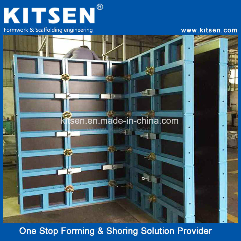 [Hot Item] Aluminum Flexible Wall Panel Formwork System/ Concrete Wall  Forms System