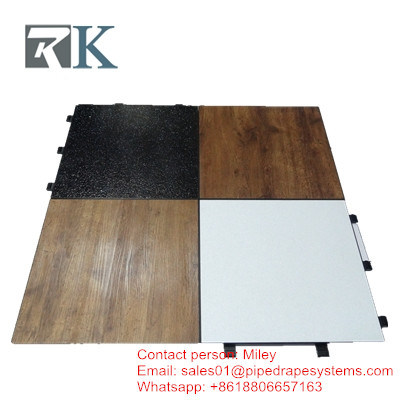 China High Quality Portable Wooden Dance Floor Rgbled Dance Floor
