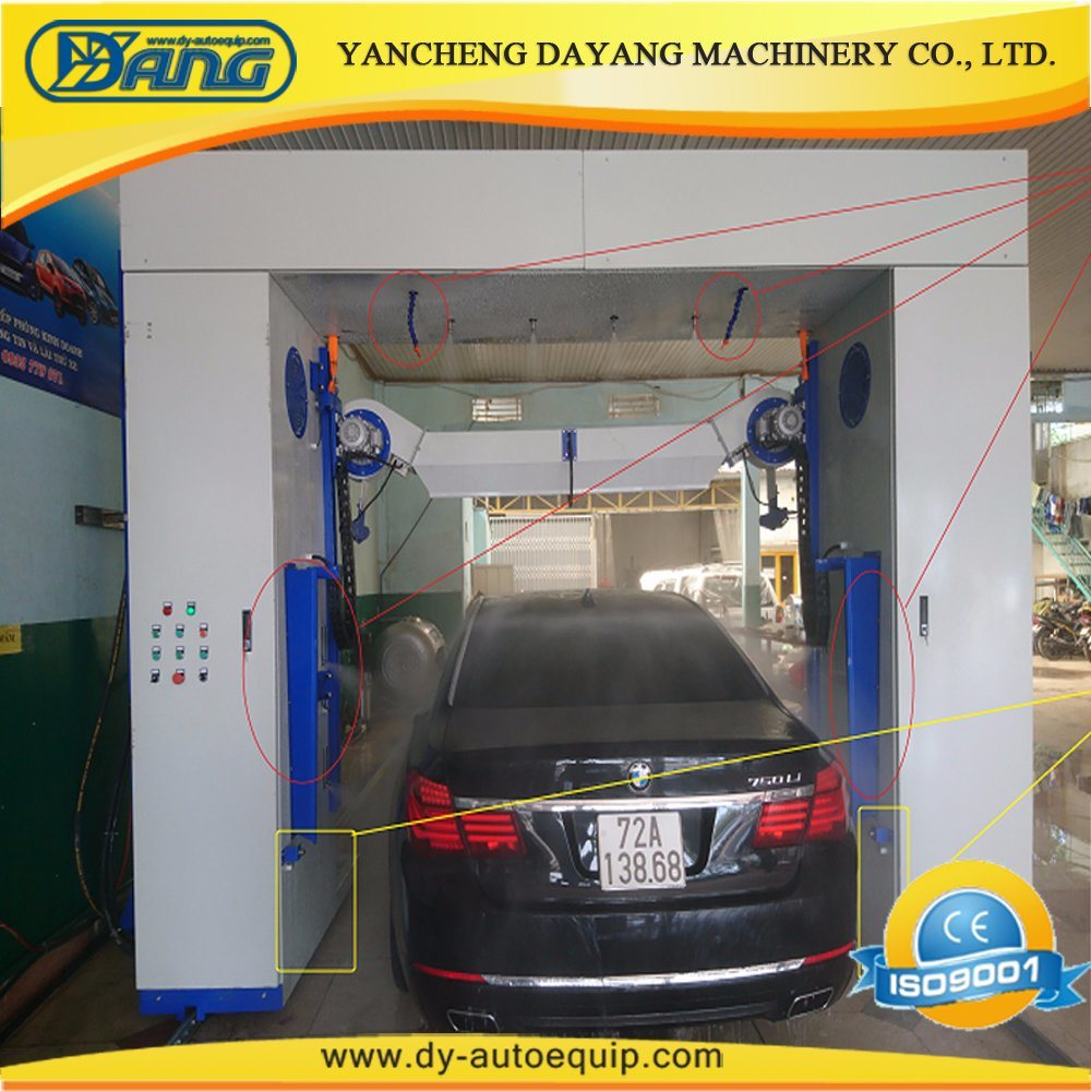 [Hot Item] High Pressure Jet Touchless Coin Operated Car Wash Machine
