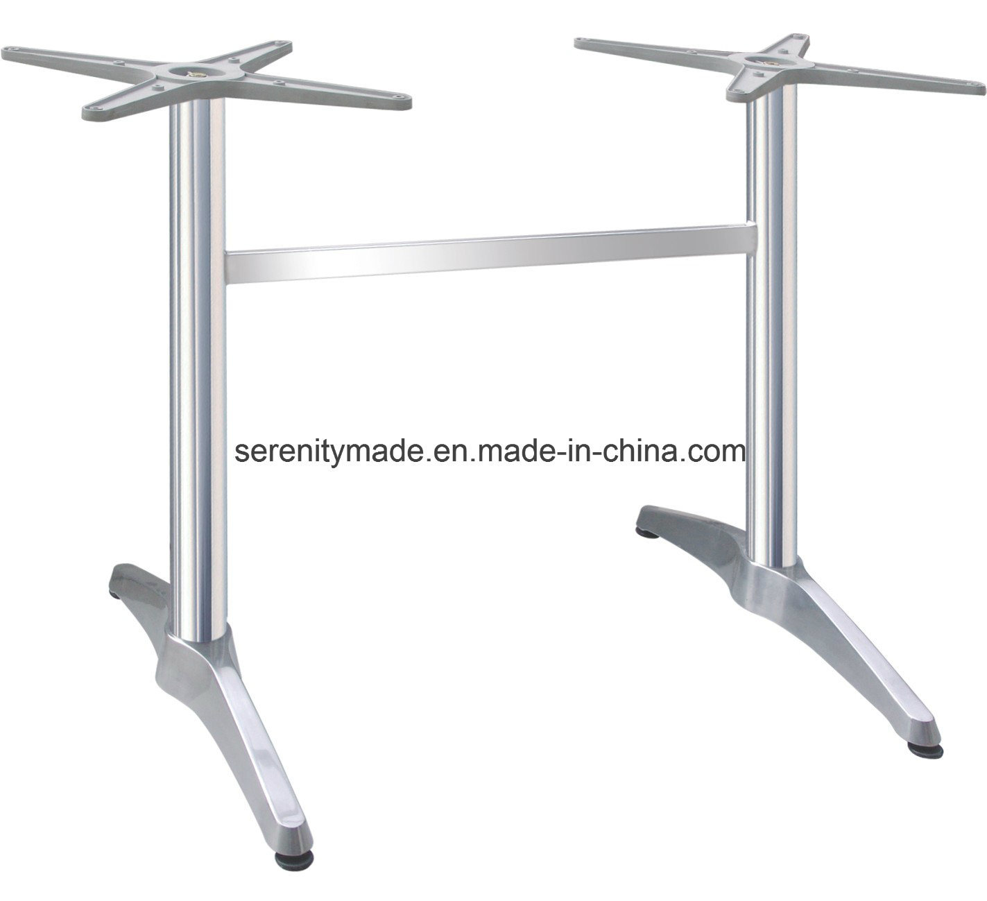 China Wholesale Industrial Table Base Metal Iron Aluminium Stainless - Stainless steel dining table base suppliers