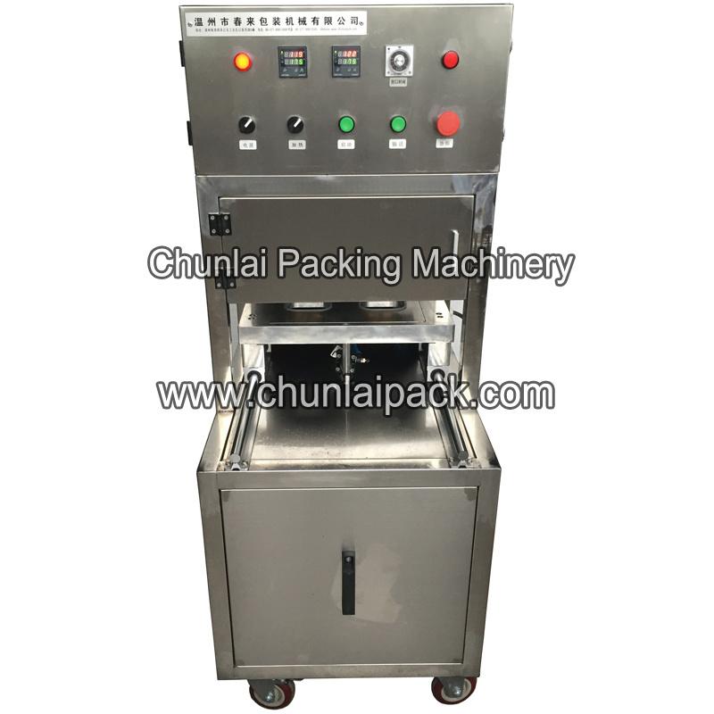 0d8de508707 Desktop Vacuum Pneumatic Box Seal Sealing Machine Vegetable Food Fruit and  Seafood Packing Machine
