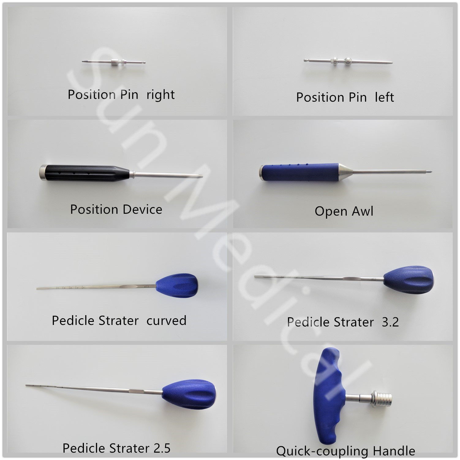 [Hot Item] Pedicle Screw Fixation System Orthopedic Surgical Instrument Set  of Spine Instrument