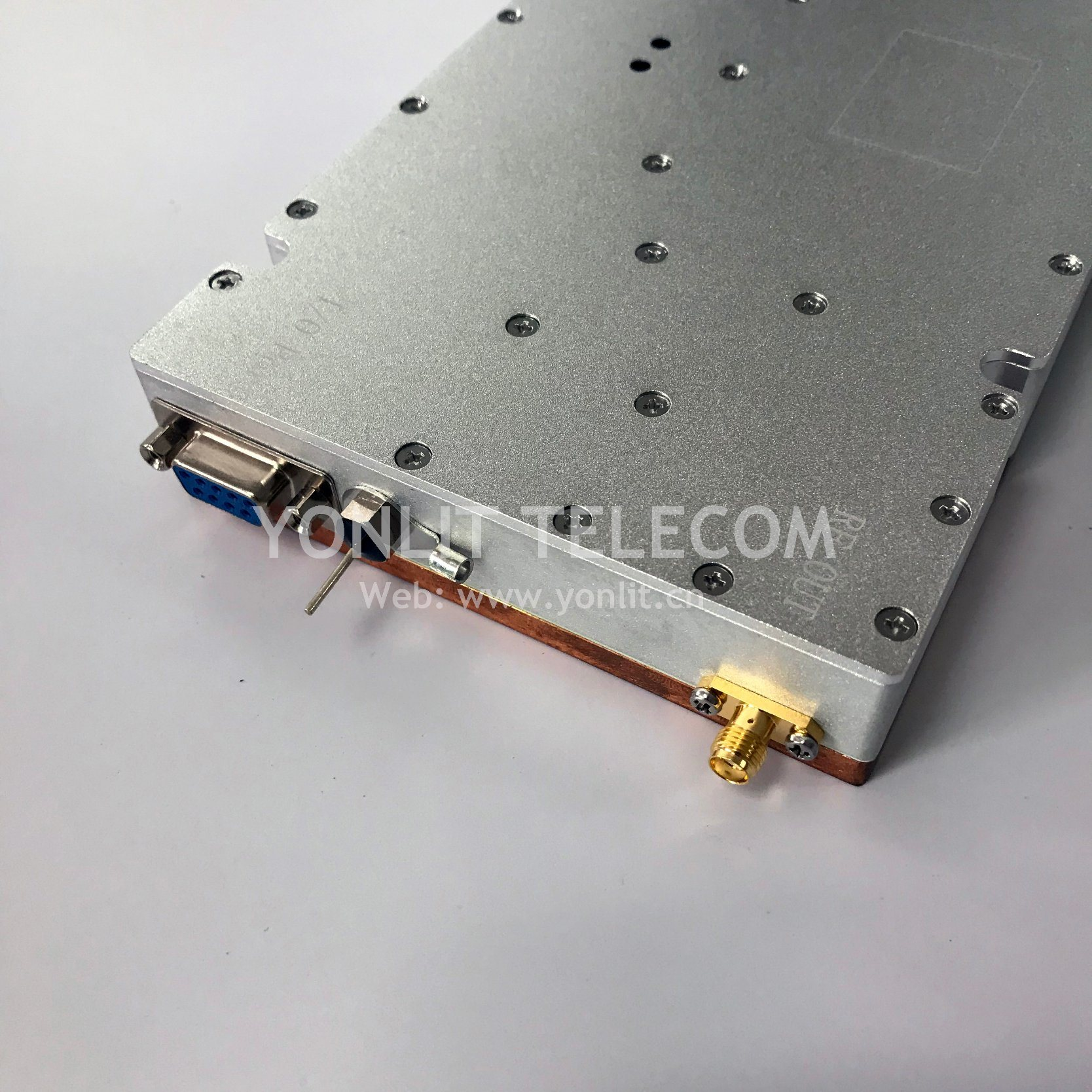 China 120w 2110 2170mhz High Efficient Rf Power Amplifier For Drone Amp Signal Jammer