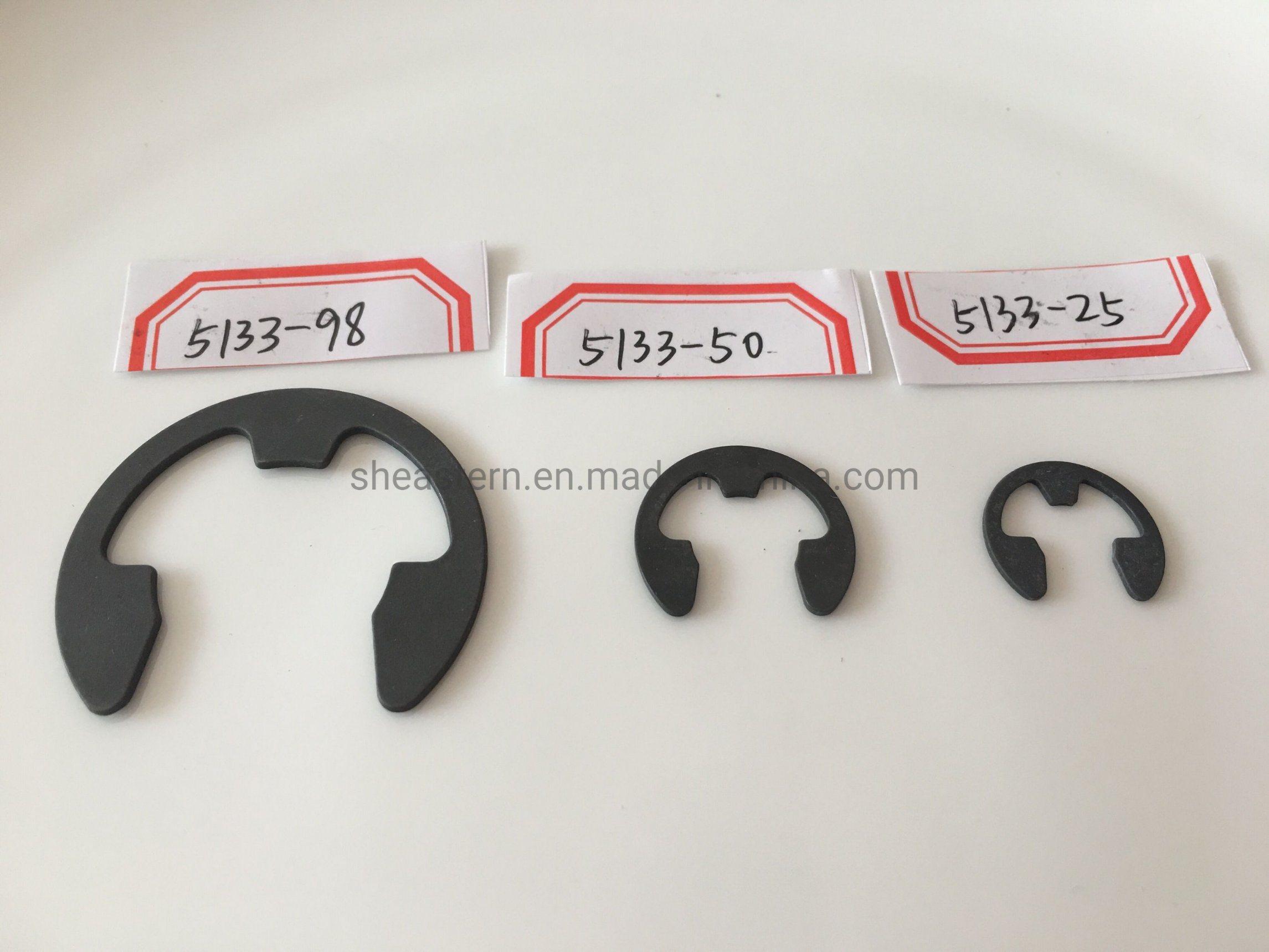 Carbon Spring Steel E-clip Snap Ring Circlip Retaining Ring Kit 0N