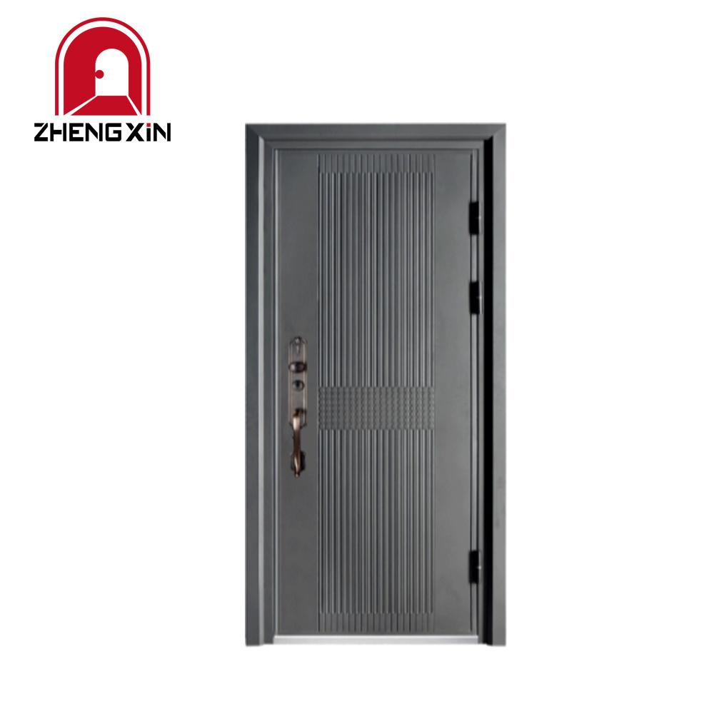 China House Main Gate Single Iron Metal Door Indian Modern Main Door Designs China Security Door Entry Door